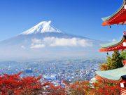 Monte Fuji, Giappone caleido